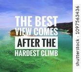 inspirational motivation quote... | Shutterstock . vector #1097563436