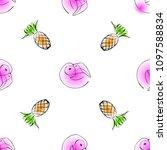 creative seamless vector... | Shutterstock .eps vector #1097588834