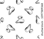 seamless vector pattern with... | Shutterstock .eps vector #1097589368