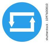 repeat button. vector icon.