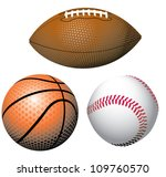 various illustrations of sports ... | Shutterstock .eps vector #109760570