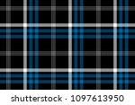 black check seamless fabric... | Shutterstock . vector #1097613950