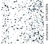 confetti of two colored rhombs... | Shutterstock .eps vector #1097618096