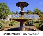 fountain gardens park | Shutterstock . vector #1097626814