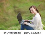 young smiling successful smart...   Shutterstock . vector #1097632364