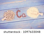 vintage photo  ingredients...   Shutterstock . vector #1097633048