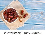 dates containing vitamins and...   Shutterstock . vector #1097633060