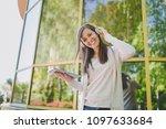 portrait of beautiful woman...   Shutterstock . vector #1097633684