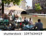 utrecht  netherlands  15 may... | Shutterstock . vector #1097634419