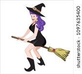 the cartoon illustration of a... | Shutterstock .eps vector #1097635400