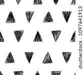abstract seamless scandinavian... | Shutterstock . vector #1097641913
