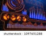 finance  analytics and banking...   Shutterstock . vector #1097651288