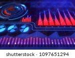 finance  analytics and market...   Shutterstock . vector #1097651294