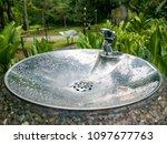 drinking water fountain in a... | Shutterstock . vector #1097677763