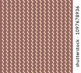 textile print with zigzag... | Shutterstock .eps vector #1097678936