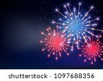 fourth of july  independence... | Shutterstock .eps vector #1097688356