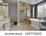 master bat in luxury home with... | Shutterstock . vector #109770020