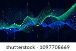 statistics big data  analytical ... | Shutterstock .eps vector #1097708669