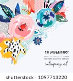 creative universal artistic... | Shutterstock .eps vector #1097713220