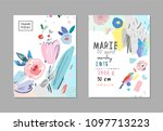 creative universal artistic...   Shutterstock .eps vector #1097713223