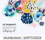 creative universal artistic... | Shutterstock .eps vector #1097713226