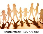 group of people together... | Shutterstock . vector #109771580