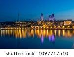Sunset Of Baku  Azerbaijan