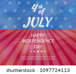 independence day of usa 4 july ....   Shutterstock .eps vector #1097724113