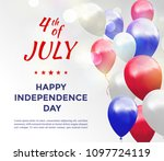 independence day of usa 4 july ....   Shutterstock .eps vector #1097724119