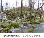 clear waterfalls in the... | Shutterstock . vector #1097724446