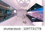 3d cg rendering of the control... | Shutterstock . vector #1097731778