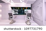 3d cg rendering of the control... | Shutterstock . vector #1097731790