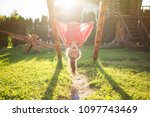 summer children's games and fun ... | Shutterstock . vector #1097743469