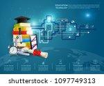 ideas concept for education... | Shutterstock .eps vector #1097749313