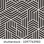 pattern with bold lines and... | Shutterstock .eps vector #1097763983