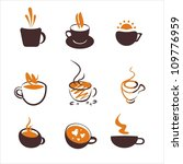 coffee. elements for design.... | Shutterstock .eps vector #109776959