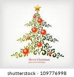 christmas tree | Shutterstock .eps vector #109776998
