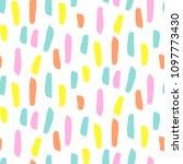 seamless brushstroke vector...   Shutterstock .eps vector #1097773430