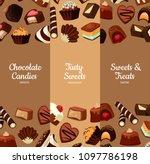 vector vertical web banners or... | Shutterstock .eps vector #1097786198