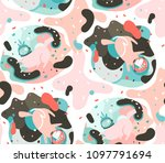 hand drawn vector abstract...   Shutterstock .eps vector #1097791694