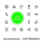 lab icon set | Shutterstock .eps vector #1097804003