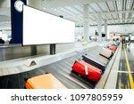 billboards in front of the... | Shutterstock . vector #1097805959