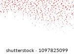 light red vector pattern. brand ... | Shutterstock .eps vector #1097825099