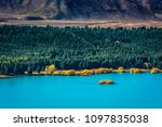 autumn the landscape of the... | Shutterstock . vector #1097835038