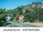 three rivers  california   usa  ... | Shutterstock . vector #1097845580