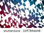 dark blue  red vector abstract... | Shutterstock .eps vector #1097846648