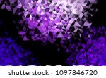 dark purple vector polygon... | Shutterstock .eps vector #1097846720