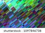 dark blue  green vector cover... | Shutterstock .eps vector #1097846738