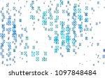 light blue vector abstract... | Shutterstock .eps vector #1097848484