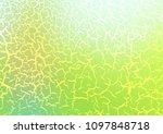 light green vector pattern with ... | Shutterstock .eps vector #1097848718